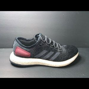 Adidas Pure Boost Men's Size 11 Shoes Black White